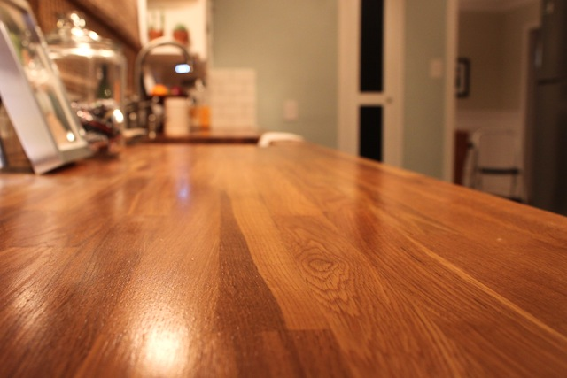 how to install butcher block countertops triangle honeymoon